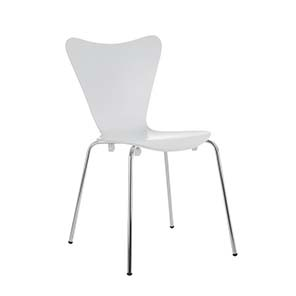 SILLA ROBLE BLANCO JACOBSEN