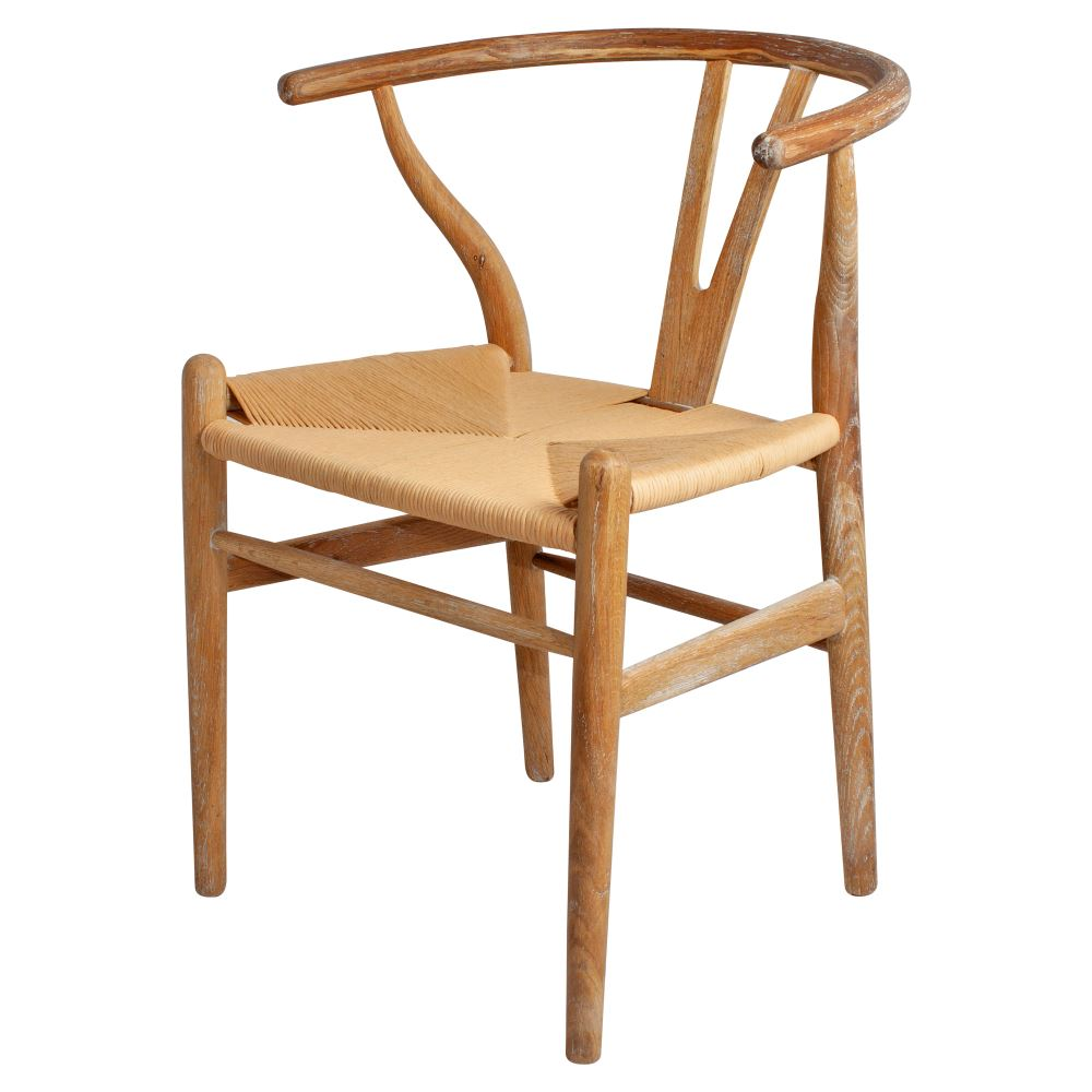 SILLA CH24 ROBLE ANTIC WEGNER