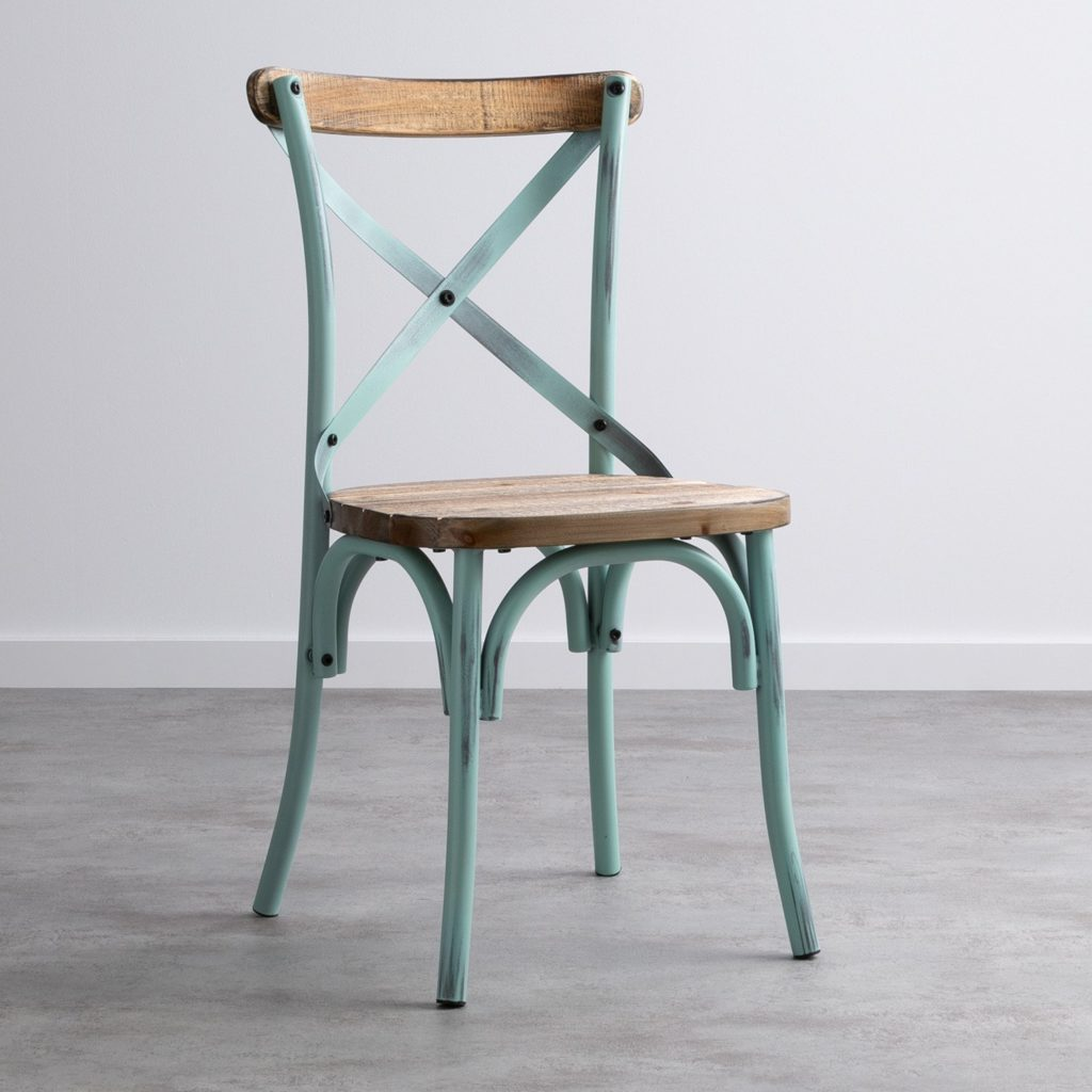 SILLA THONET ROBLE DECAPADO